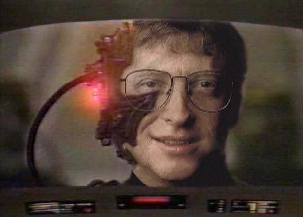 Bill Gates as a Borg