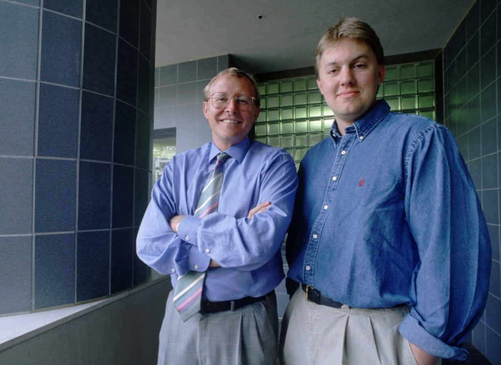 Marc Andreessen and Jim Clark