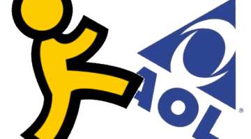 AOL and Instant Message Logo