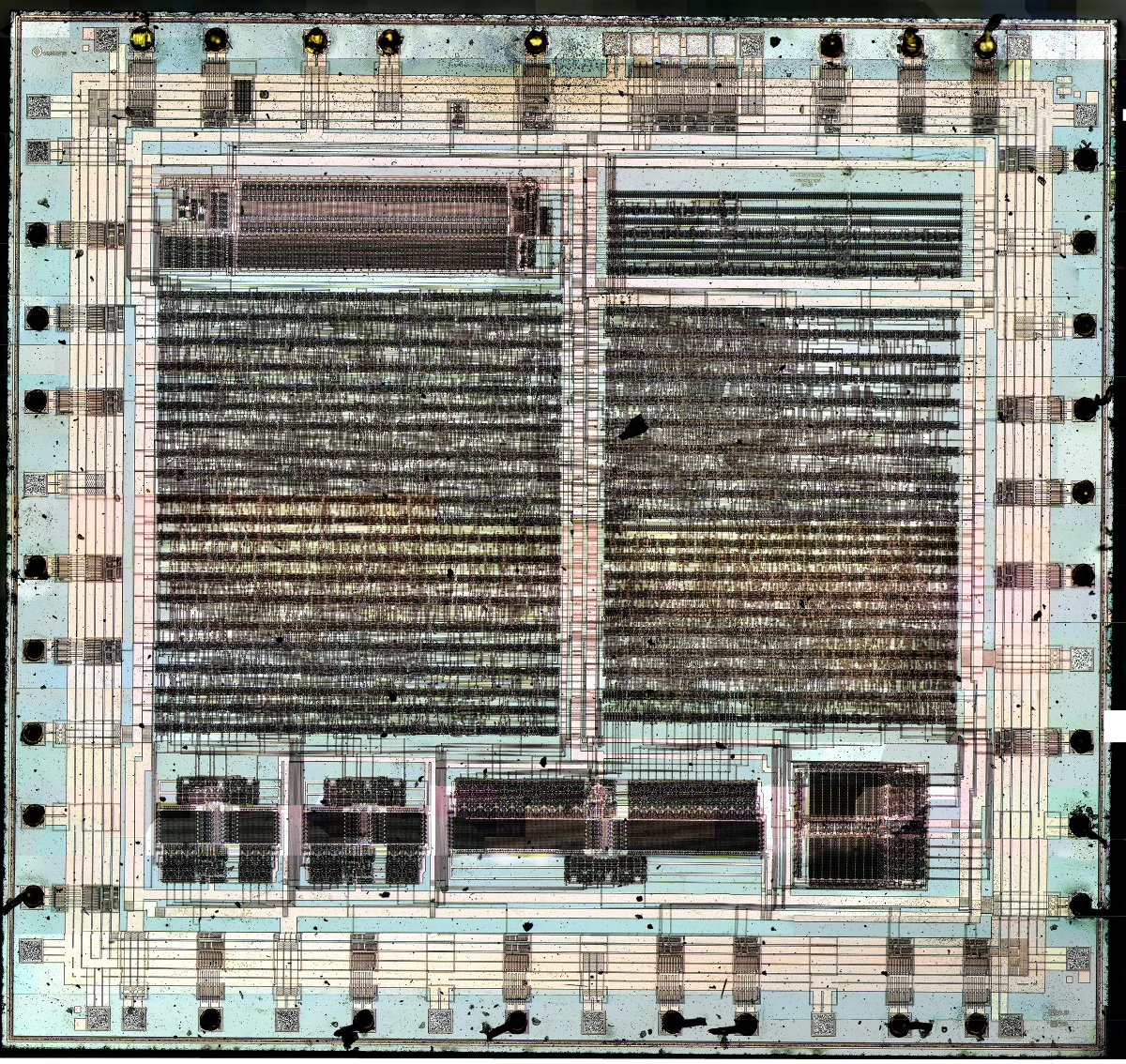 Here is a close-up of the clipper chip