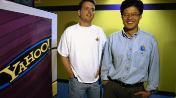 David Filo and Jerry Yang, Co-founders of Yahoo!