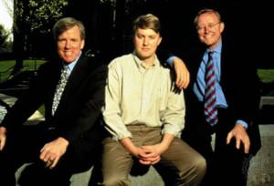 Jim Barksdale, Marc Andreessen, Jim Clark