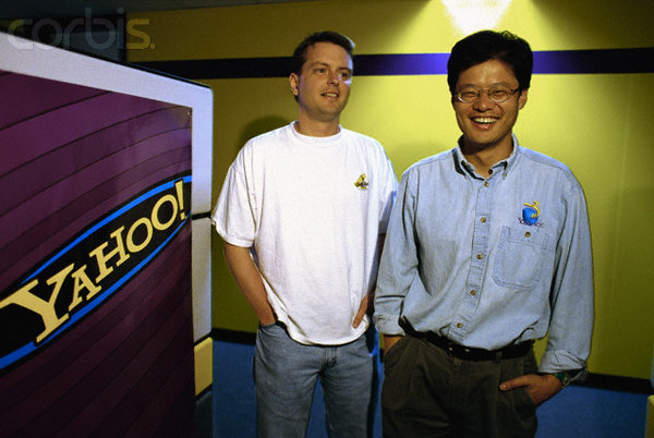 David Filo and Jerry Yang, Founders of Yahoo
